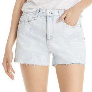 rag & bone Dre raw denim shorts, Oasis NWT